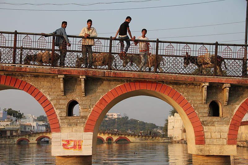 Bridge in Udaipur Rajasthan