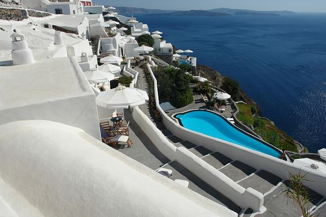 Santorini romantic lookout