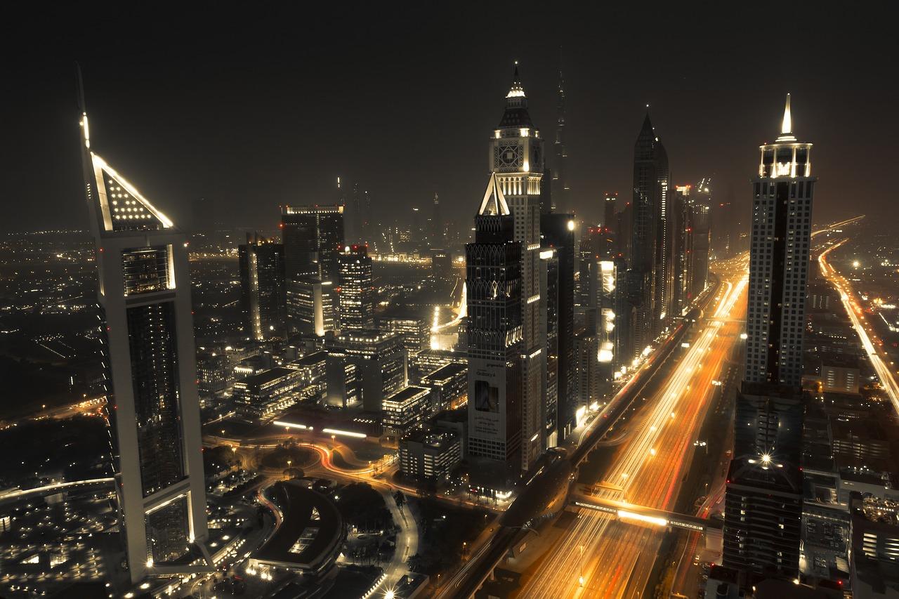 Dubai city scape